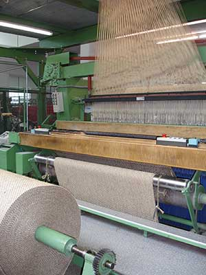 Sisal Carpet Manufacturing